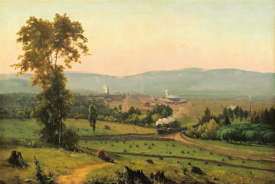 George Inness The Lackawanna Valley