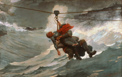 Winslow Homer The Life Line