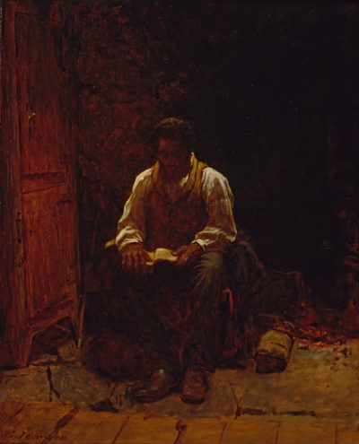 Eastman Johnson The Lord Is My Shepherd
