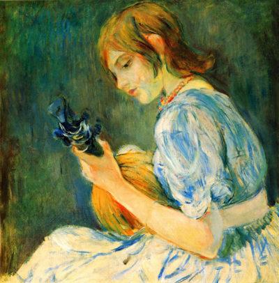 Berthe Morisot The Mandolin