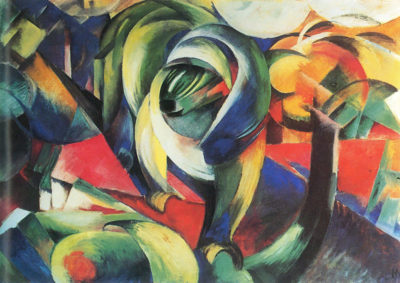Franz Marc The Mandrill