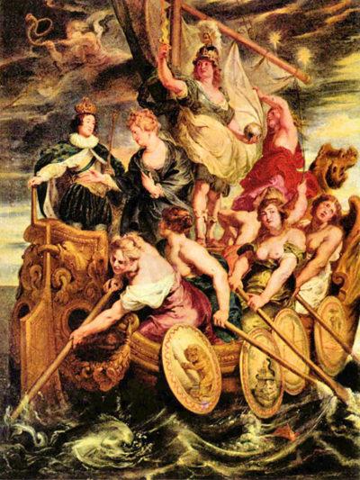 Peter Paul Rubens The Medici's