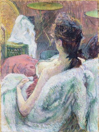 Henri de Toulouse-Lautrec The Model Resting