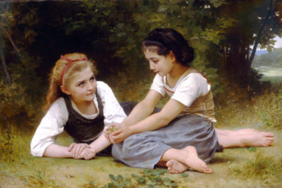 William-Adolphe Bouguereau The Nut Gatherers