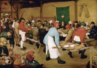 Pieter Bruegel de Oude The Peasant Wedding