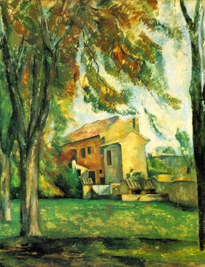 Paul Cézanne The Pond of the Jas de Bouffan in Winter