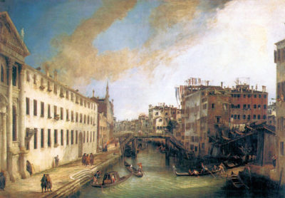 Canaletto The River of Mendicanti