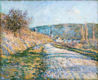 Claude Monet The Road to Vetheuil