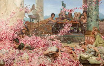 Lourens Alma Tadema The Roses of Heliogabalus