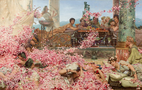 Lourens Alma Tadema The Roses of Heliogabalus