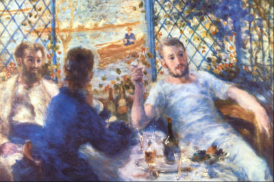 Pierre-Auguste Renoir The Rowers Lunch