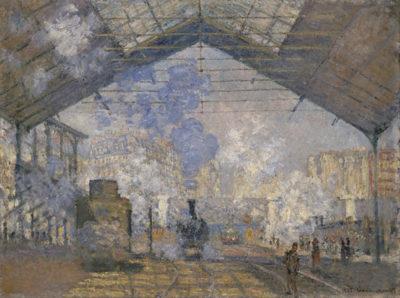 Claude Monet The Saint-Lazare Station