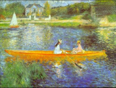Pierre-Auguste Renoir The Seine