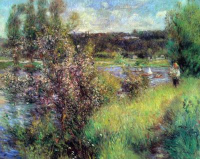 Pierre-Auguste Renoir The Seine at Chatou
