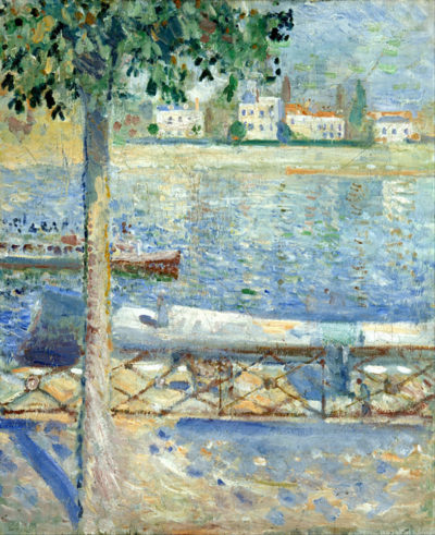Edvard Munch The Seine at St Cloud