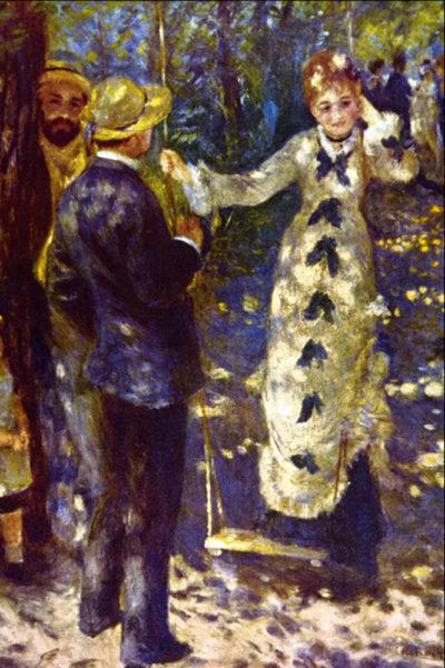 Pierre-Auguste Renoir The Swing