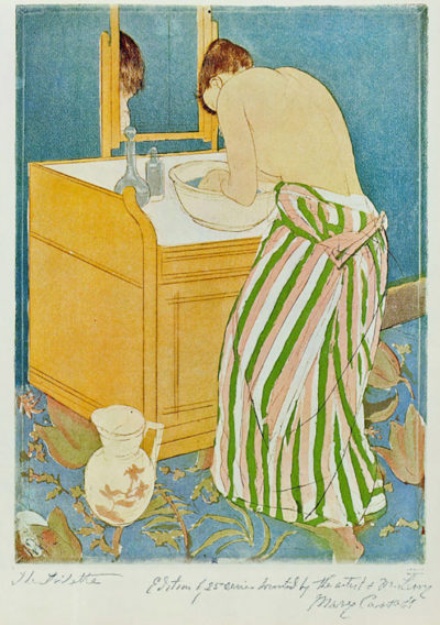Mary Cassatt The Toillette