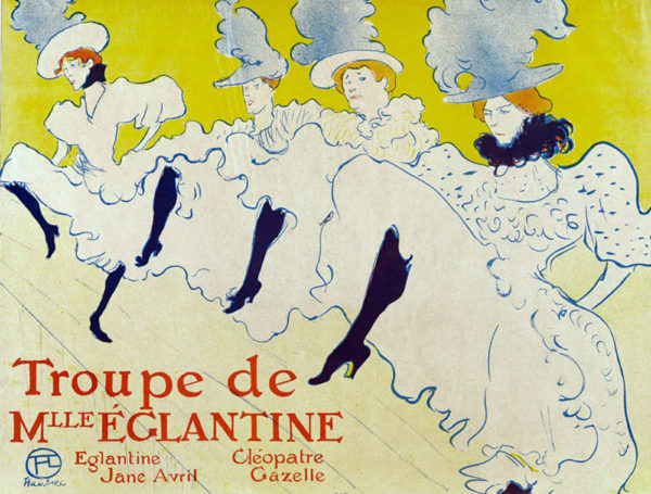 Henri de Toulouse-Lautrec The Troupe of mlle. Elegant