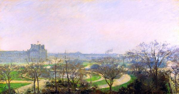 Camille Pissarro The Tuileries