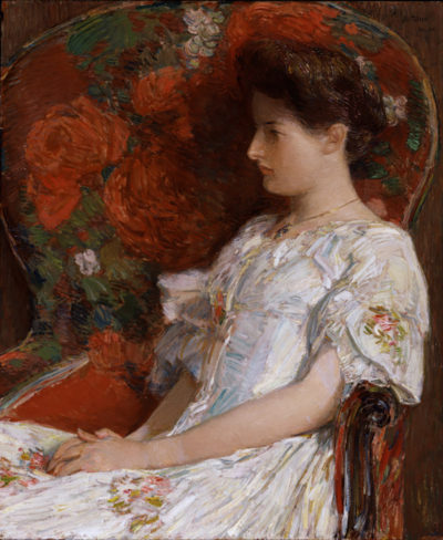 Childe Hassam The Victorian Chair