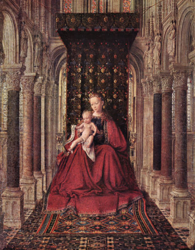 Jan van Eyck The Virgin and Child