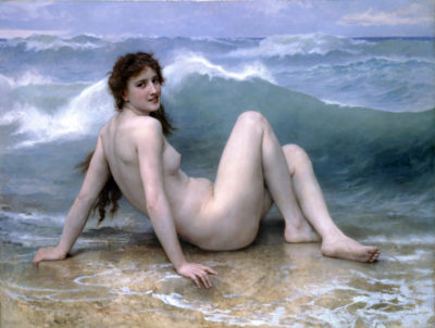 William-Adolphe Bouguereau The Wave