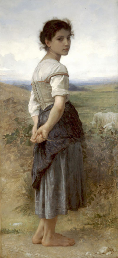 William-Adolphe Bouguereau The Young Shepherdess