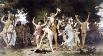 William-Adolphe Bouguereau The Youth of Bacchus