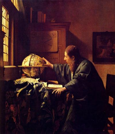 Johannes Vermeer The astronomer