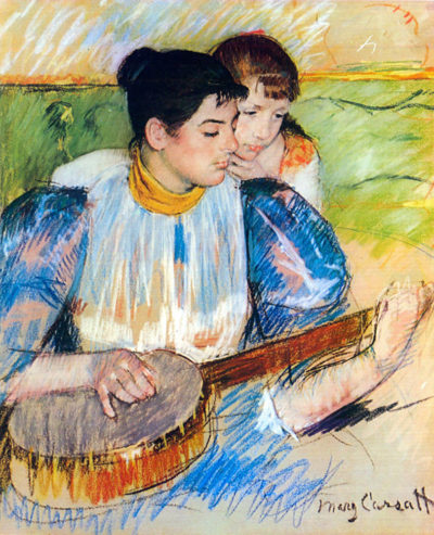 Mary Cassatt The banjo lesson