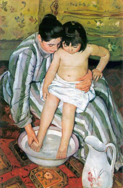 Mary Cassatt The bath (Cassatt)
