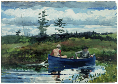 Winslow Homer The blue boat