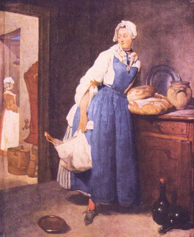 Jean Chardin The bread