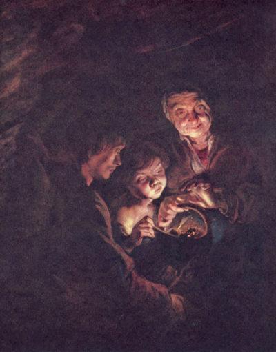 Peter Paul Rubens The coal basin