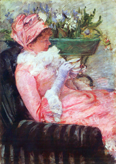 Mary Cassatt The cup of tea