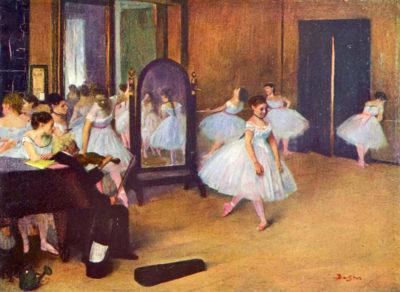 Edgar Degas The dance hall