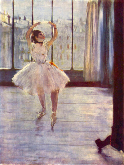 Edgar Degas The dancer at the photographer
