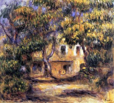 Pierre-Auguste Renoir The farm at Les Collettes