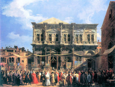 Canaletto The festival Rochus