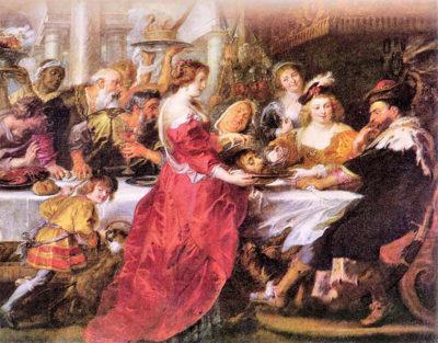 Peter Paul Rubens The festival of Herod