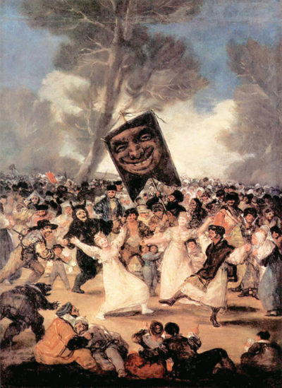 Francisco Goya The funeral of Sardina