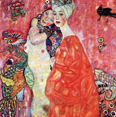 Gustav Klimt The girlfriends