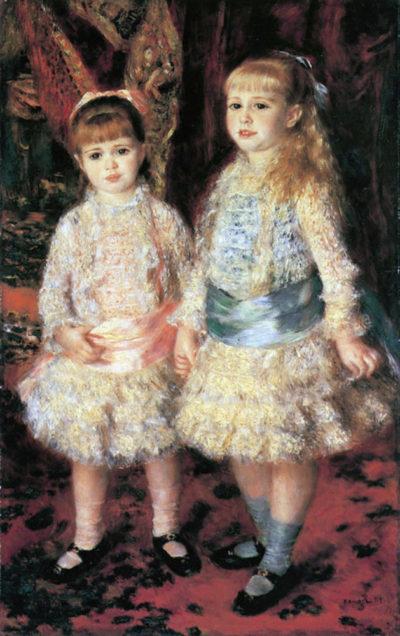 Pierre-Auguste Renoir The girls Cahen d'Anvers