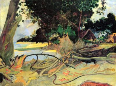 Paul Gauguin The hibiskus tree