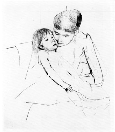 Mary Cassatt The ill child