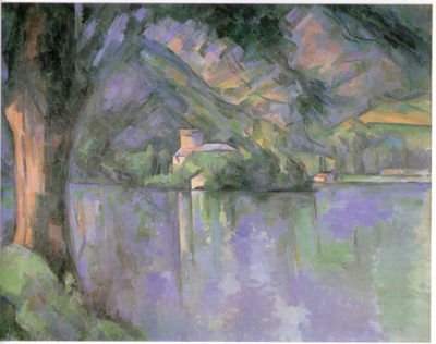 Paul Cézanne The lake of Annecy 1896