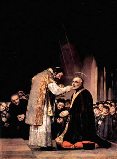 Francisco Goya The last communion of St. Joseph of Calasanza