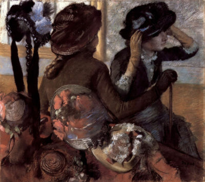 Edgar Degas The milliner