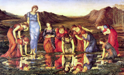 Edward Burne-Jones The mirror of Venus