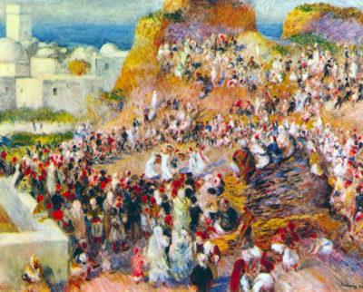 Pierre-Auguste Renoir The mosque (Arabian Fest)